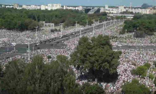 Minskas savaitgalį – kvietimas visuotiniam streikui