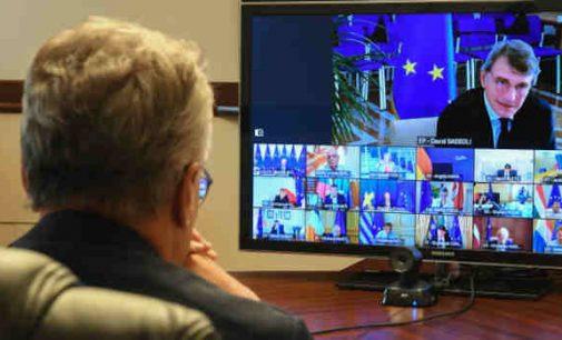 A. Nausėda virtualaus ES viršūnių susitikimo metu paskatino sustabdyti Astravo AE paleidimą Baltarusijoje