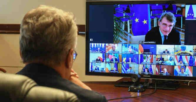 Europos Vadovų Tarybos virtuakus susitikimas
