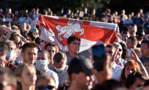 Baltarusijoje protestai nesiliauja