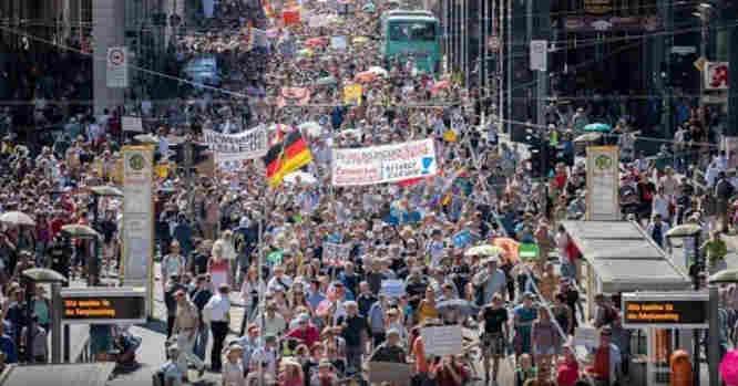 Protestai Vokietijoje