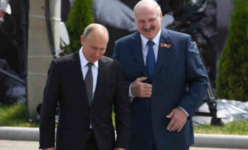 Putinas pripažino rinkimus Baltarusijoje įvykusiais