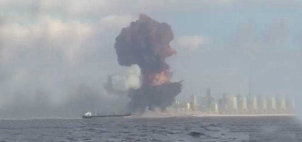 Galingas sprogimas Beirute