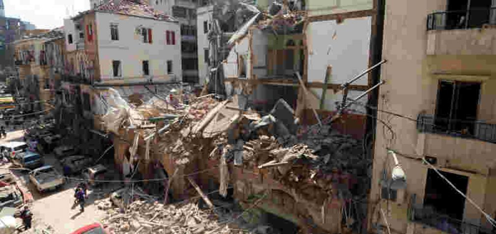 Sprogimo Beirute pasekmės: žuvusiųjų skaičius pasiekė 135