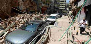 Interpolas pasijungė prie sprogimo Beirute tyrimo