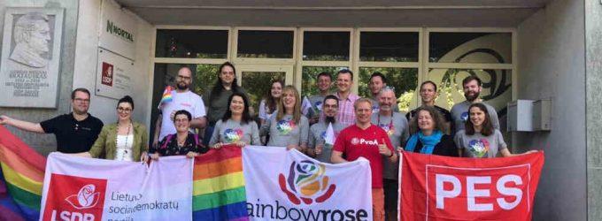 Socialdemokratų partijos kandidatai su LGBT+ bendruomene ne tik pažadais, bet ir veiksmais