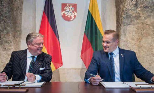 Vokietija ginkluotės sandėliams Lietuvoje projektuoti skirs 500 tūkst. eurų