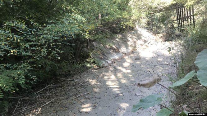 Išdžiūvusi Tanasu upė