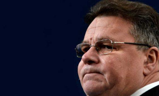 Lietuva pareiškė prarandanti pasitikėjimą ES dėl pastarosios pasyvumo Baltarusijos atžvilgiu