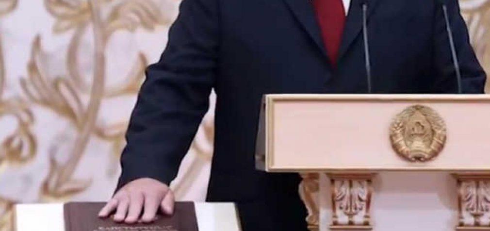 Baltarusijoje patyliukais įvyko A. Lukašenkos inauguracija į prezidentus