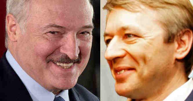 Aleksndras Lukašenka ir Ramūnas Karbauskis