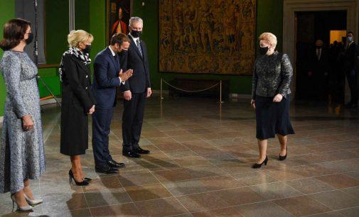 Lietuvos Prezidento G. Nausėdos tostas Prancūzijos Prezidento garbei