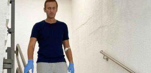 Aleksejus Navalnas toliau pjudomas Rusijoje: areštuotas jo butas