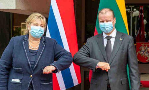Premjeras: Norvegija – svarbi Lietuvos ir esminė vertybinė ES partnerė (net nežiūrint į atimtus Lietuvos piliečių vaikus)