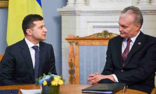 Lietuvos ir Ukrainos prezidentai dviese nutarė koks variantas geriausias sprendžiant Baltarusijos krizę. Lukašenkos nuomone nesidomėjo