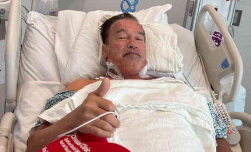 Arnoldui Švarcenegeriui buvo atlikta širdies operacija