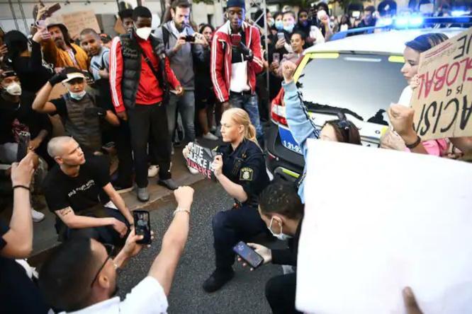 Švedijos policijos padėjėja Lisa Simonss