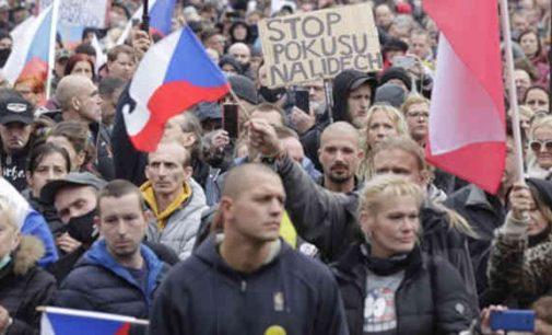 Čekijos sostinėje vyks demonstracija nukreipta prieš koronavirusinę valdžios politiką
