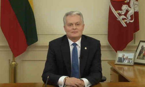 Prezidento G. Nausėdos kreipimasis į Lietuvos žmones dėl Seimo rinkimų