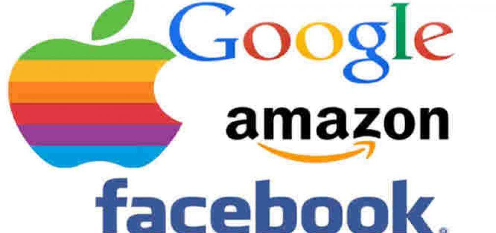 Amazon, Apple, Facebook ir Google kelia grėsmę JAV ekonomikai ir demokratijai