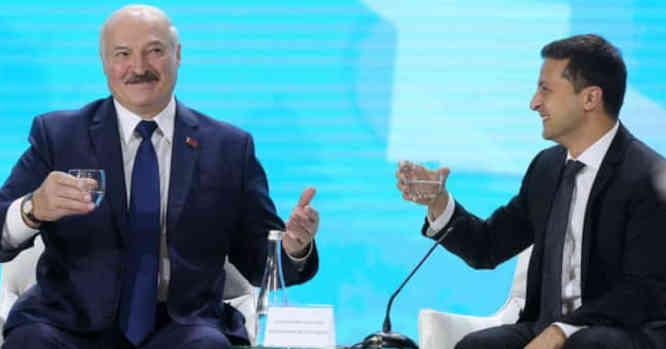 A. Lukašenka ir V. Zelenskis