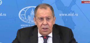 Rusijos užsienio reikalų ministerija skelbia apie pasaulinės ekonominės sistemos sunaikinimo grėsmę