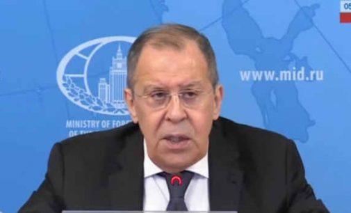 """Rusijos URM vadovas S. Lavrovas teigia, jog vokiečių klinikos Charite gydytojai nerado Navalno analizuose """"Novičok"""" klasės nuodų"""