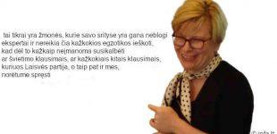 Ingrida Šimonytė neatmetė galimybės tartis su Laisvės Partija švietimo klausimais