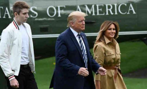 JAV prezidento sūnus persirgo koronavirusu