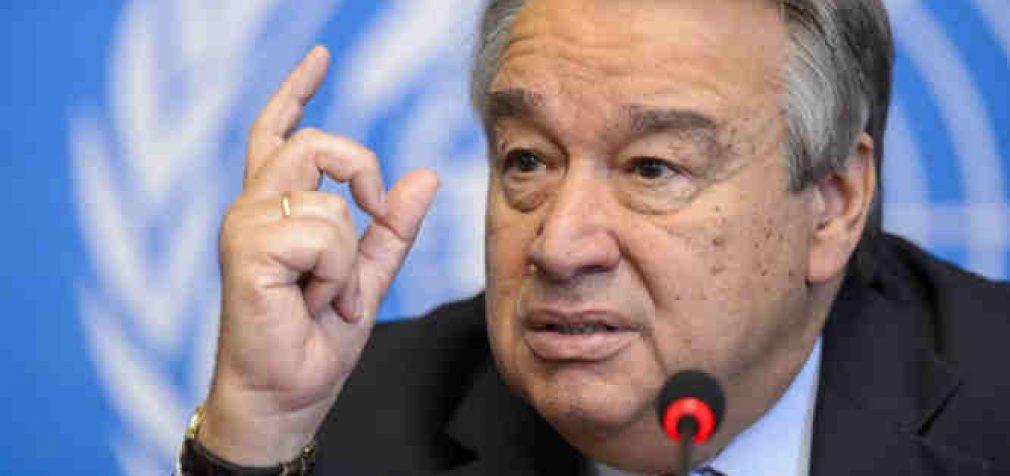 JT Generalinis sekretorius paragino nurašyti vargingų šalių skolas ryšium su Covid-19 pandemija