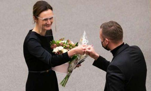 Naujojo Seimo pirmininkė V.Čmilytė-Nielsen: Jeigu mane kas sutiksite gatvėje, negalvokite, kad pažeidžiau izoliavimosi taisykles