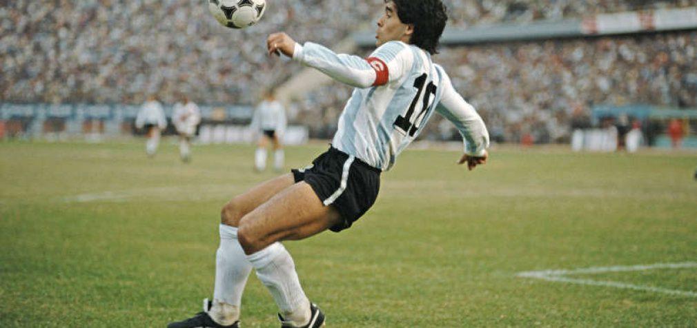 Mirė futbolo legenda Diego Maradona