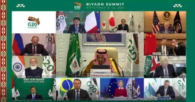 G20 vitualus susitikimas