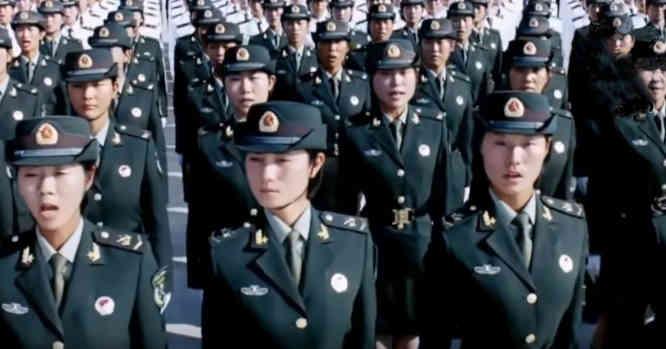 Kinijos moterys karės