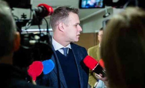 G. Landsbergis: reikia pravesti tyrimą ir imtis sankcijų prieš Baltarusijos teisėsaugą