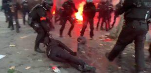 """Prancūzijoje masinės demonstracijos ir susidūrimai su policija prieš įstatymą apie """"Visuotinį saugumą"""""""