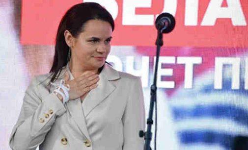 Svetlana Tichanovskaja kreipėsi pagalbos į Džo Baideną, prašydama padidinti spaudimą Baltarusijai