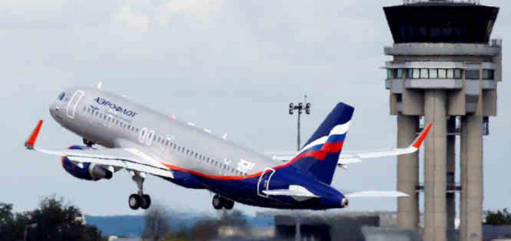 """Rusijos """"Aeroflot"""" aviacijos kompanija nebeskraidins """"Covid disidentų"""""""