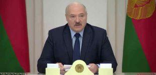 """""""Ne fašizmo įpėdiniams mane teisti"""": pareiškė Lukašenka apie Vokietijos prokuratūrą"""