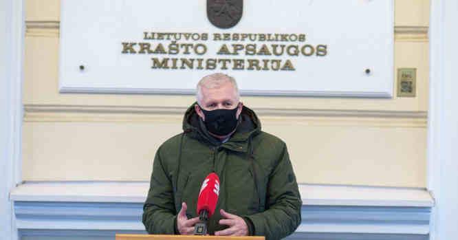 KAM ministras Arvydas Anušauskas