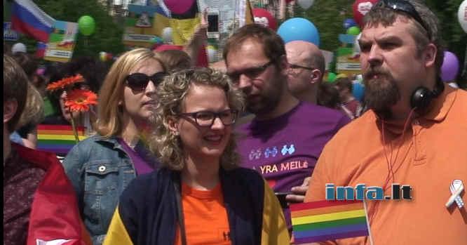 Aušrinė Armonaitė homo parade 2016