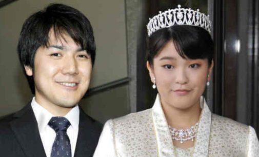 Japonijos imperatoriškosios šeimos nariai renkasi meilę vietoje karališkųjų  titulų