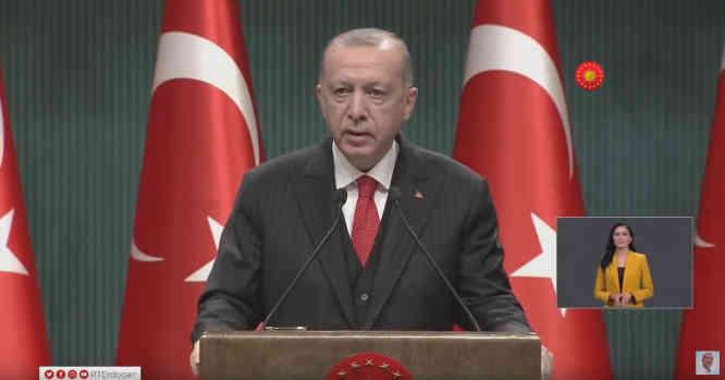 R.T.Erdogano pasisakymas