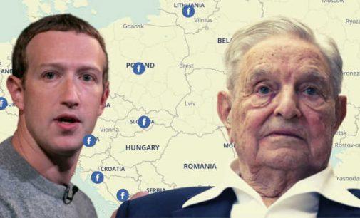 """Džordžas Sorosas finansuoja 8 iš 11 """"Facebook"""" faktų tikrinimo organizacijų Vidurio ir Rytų Europoje"""