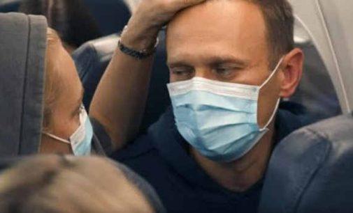Tik išlipęs iš lėktuvo Rusijoje Aleksejus Navalnas vėl areštuotas, kaip vengęs inspekcijos kontrolės