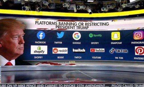"""""""Twitter"""" rinkos vertė po D. Trampo užblokavimo smuko 12 procentų"""