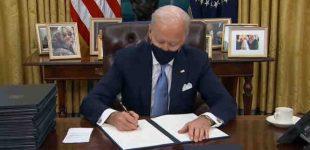 Baidenas gražina JAV į Paryžiaus klimato kaitos susitarimo ir PSO glėbį