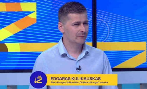 """Sveikatos apsaugos ministro Arūno Dulkio patarėju tapo Edgaras Kulikauskas, žinomas pseudonimu – """"Ciniškas chirurgas"""""""
