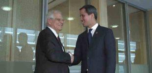 Europos Sąjunga nusisuko nuo Juano Guaido, nebepripažindama jo Venesuelos vadovu