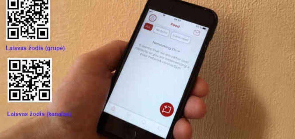 Parler socialinio tinklo svetainė jau pasiekiama ir tvarkosi
